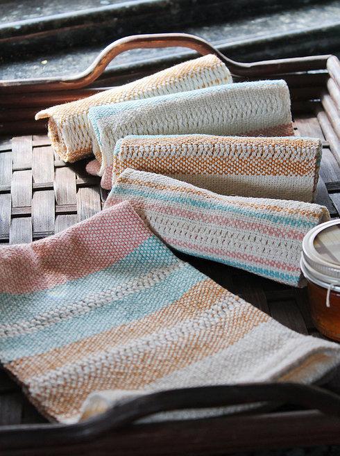 Buttermint Handwoven Towels