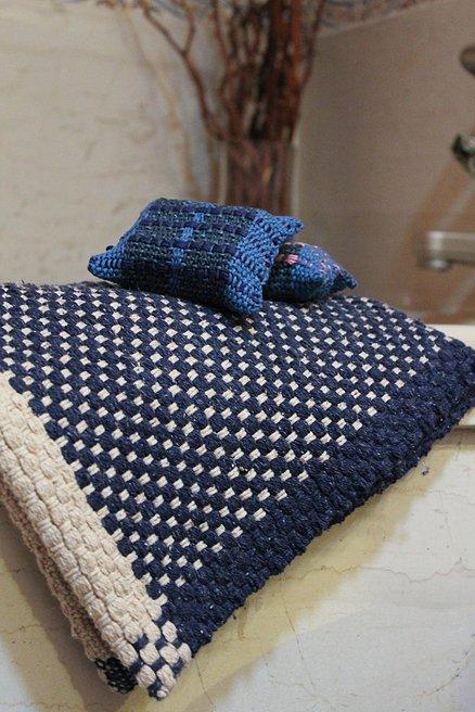 Handwoven Spa Set by Liz Gipson
