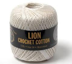 Lion Crochet Cotton