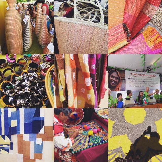A visit to the Folk Art Market