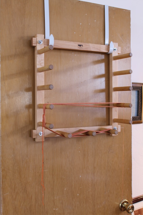 Warping Board Set Up