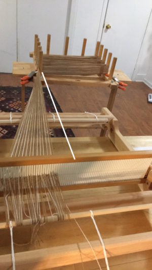Lining Up The Warping Board For the Direct Method