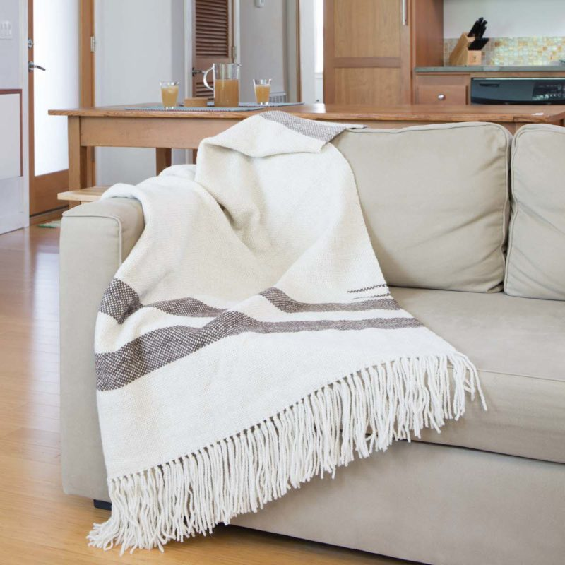 Hudson Bay from Handwoven Home by Liz Gibson