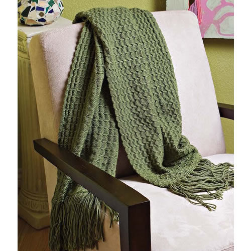Handwoven shawl from Weaving Made Easy