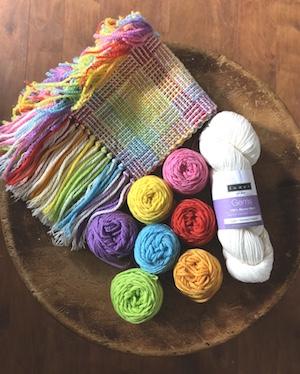 Yarnworker Rainbow Scarf Kit