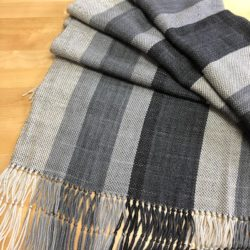 Handwoven Grayscale Wrap