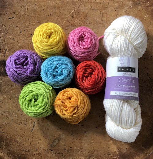 Rainbow Yarn Kit