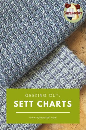 Yarn selection and sett are at the heart of what makes woven cloth great. When pondering the question of sett, fabric design, and yarn substitution, an underused resource by rigid-heddle weavers is a sett chart. A sett chart is a list of yarns described in generic terms, their yardage, and a range of suggested setts.