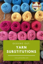 yarn substitutions for weavers