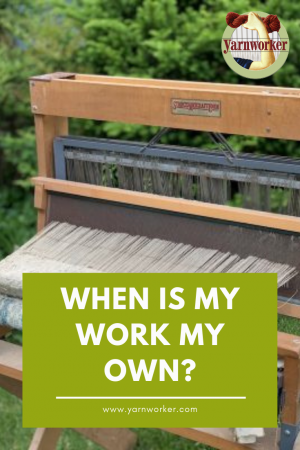 When is my work my own?
