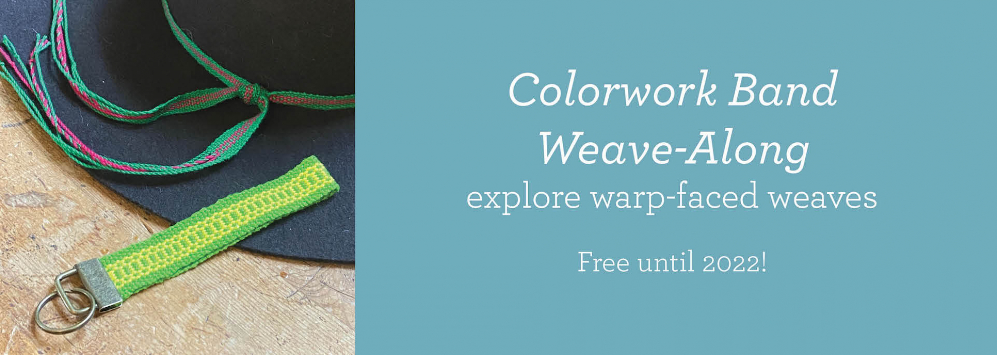 Colorwork Band WAL available until 2022
