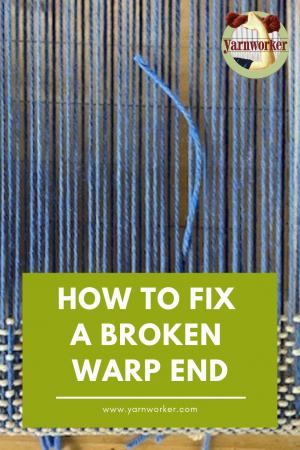 How to fix a broken warp