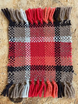 a swatch of the ruana colorway