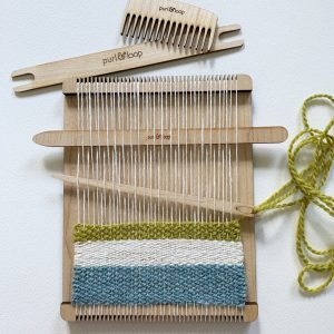 Swatch Maker Loom with Tools